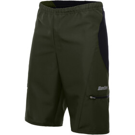 Santini Bosco MTB Shorts Men verde militare